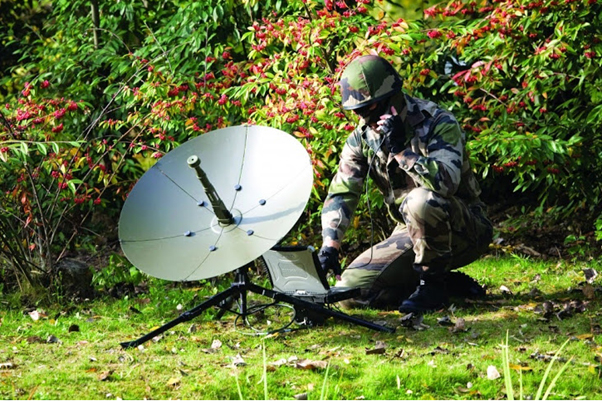 Military high speed satellite modem from TXMission